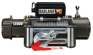 Badlands Winches Item 61256