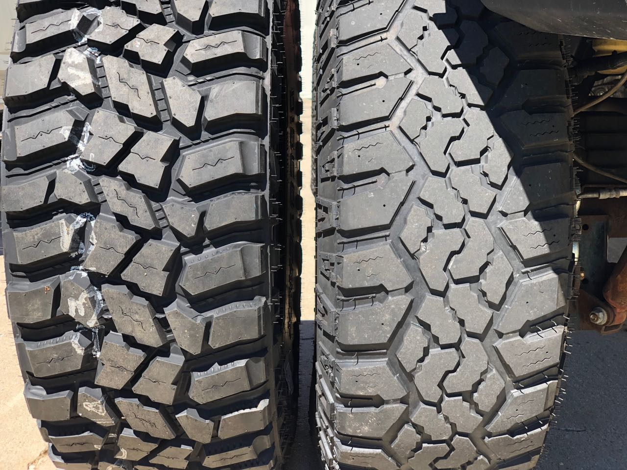 discoverer stt pro v kanati trail hog tread